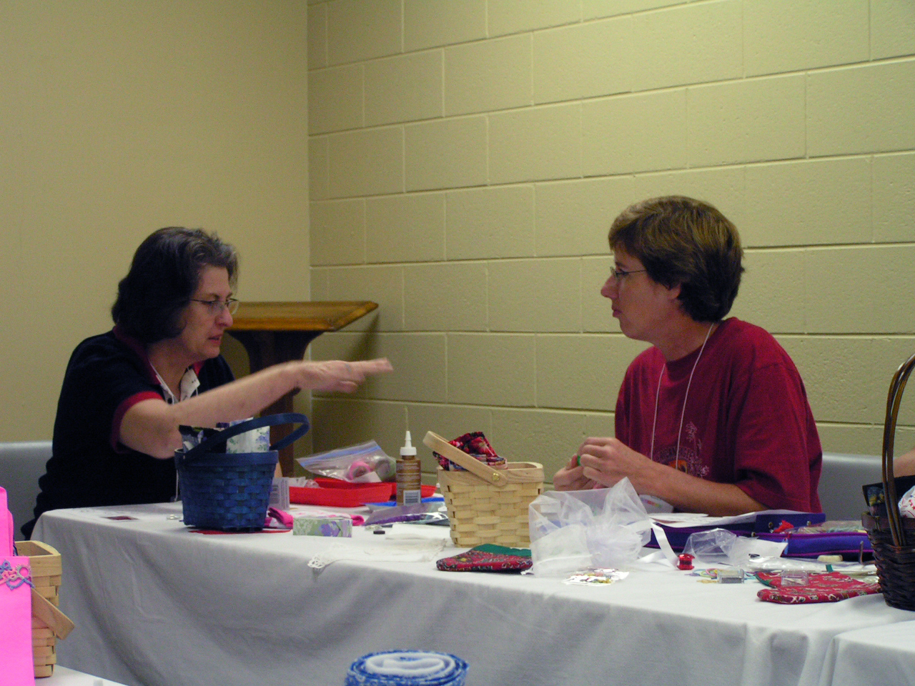 2 participants compare techniques