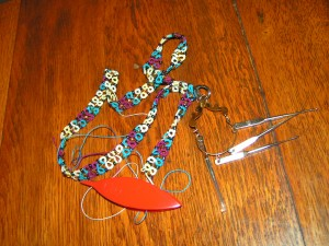 Beaded Lanyard with tools