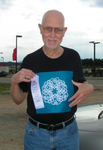 3rd Place in Tatting, Mountain State Fair, 2013