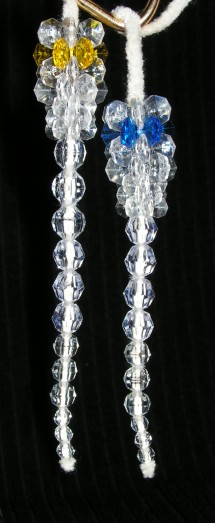 See the contrast between various colors when added to the icicles